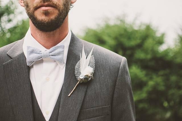Beard Bow Tie Brooch - Free photo on Pixabay (161091)
