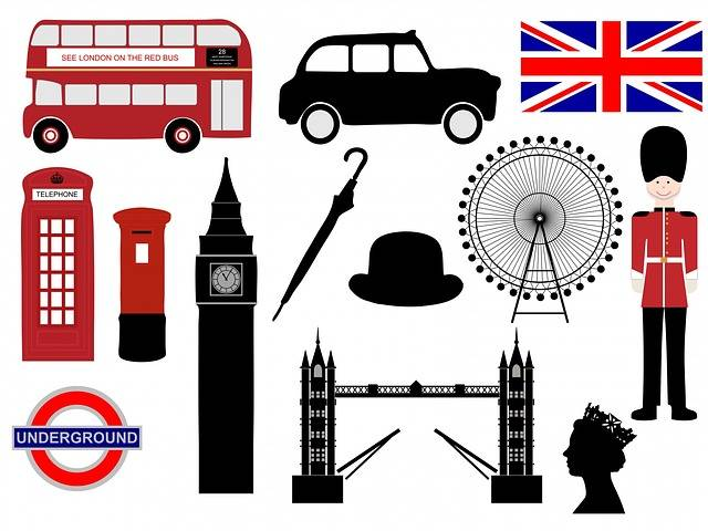 London Icons Symbols - Free image on Pixabay (161105)