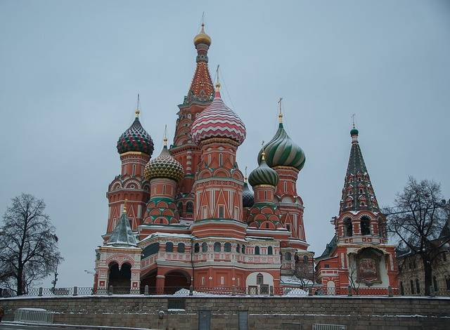 Moscow Saint Basil'S Cathedral - Free photo on Pixabay (161330)