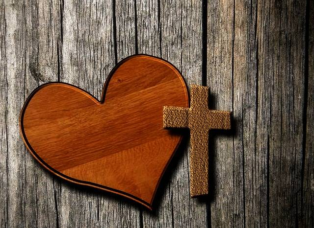 Heart Cross Christianity - Free image on Pixabay (161352)