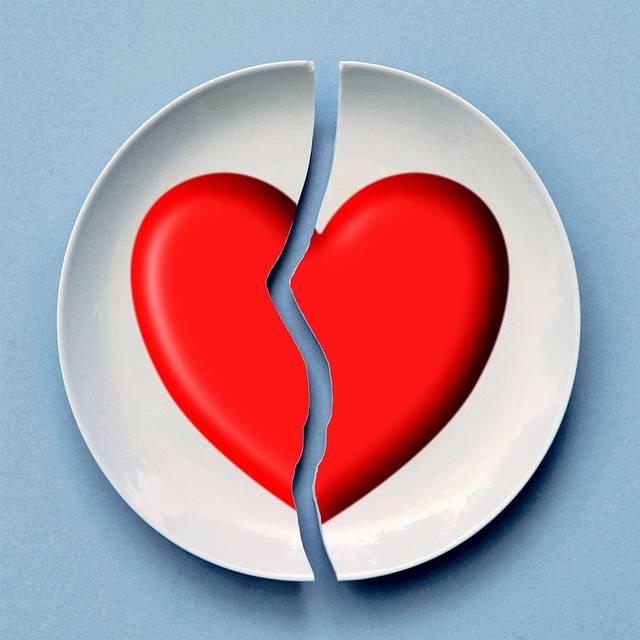 Broken Heart Love - Free image on Pixabay (161364)