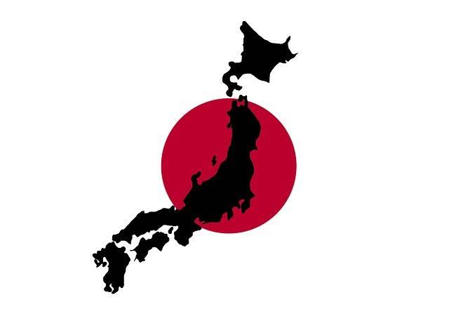 Japan Japanese Map - Free image on Pixabay (161382)
