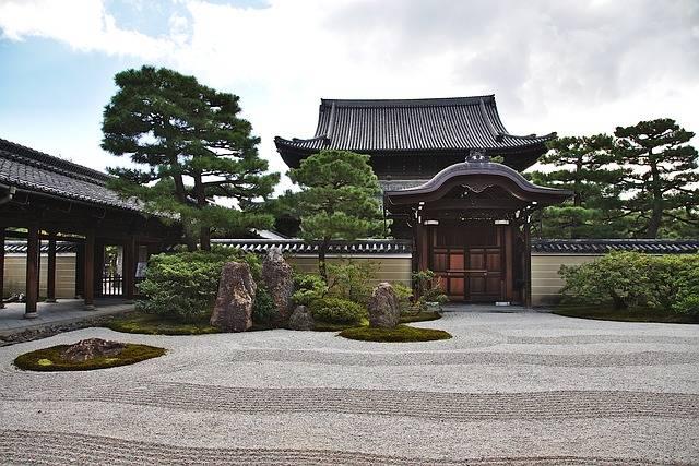 Temple Garden Goal - Free photo on Pixabay (161390)
