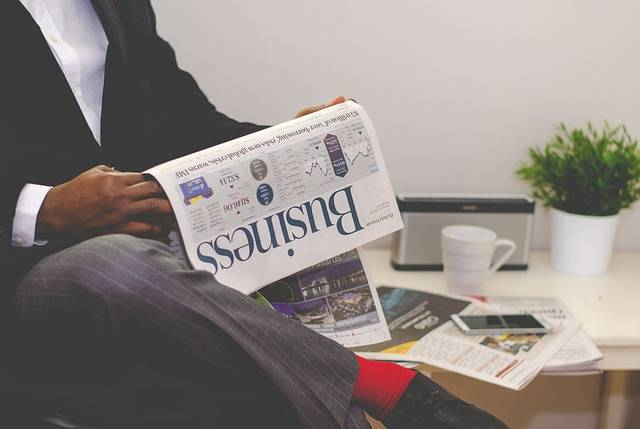 Business Man Newspaper - Free photo on Pixabay (161836)