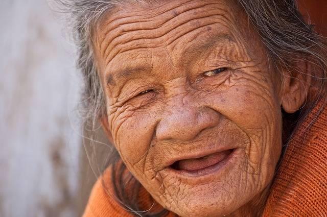 Old Lady Smile Beautiful - Free photo on Pixabay (162469)