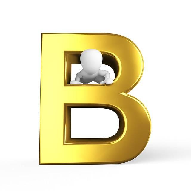 B Letter Alphabet - Free image on Pixabay (164499)