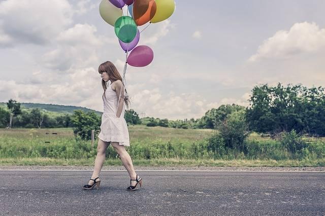 Balloons Party Girl - Free photo on Pixabay (165488)