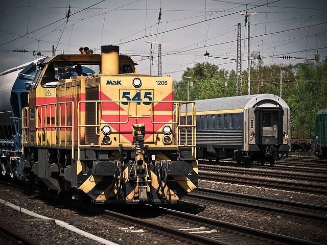 Locomotive Train Railway - Free photo on Pixabay (167424)