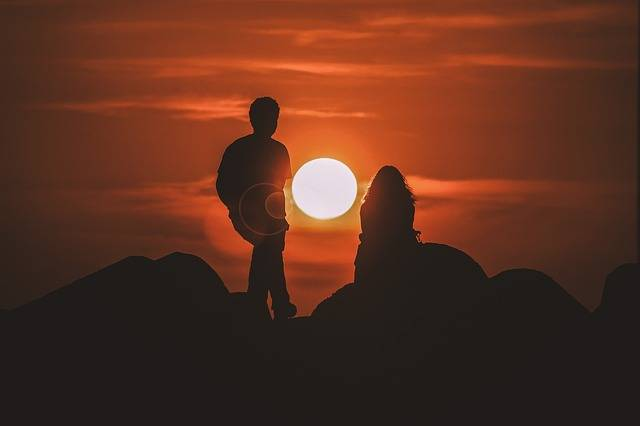 Sunset View Silhouette - Free photo on Pixabay (168121)