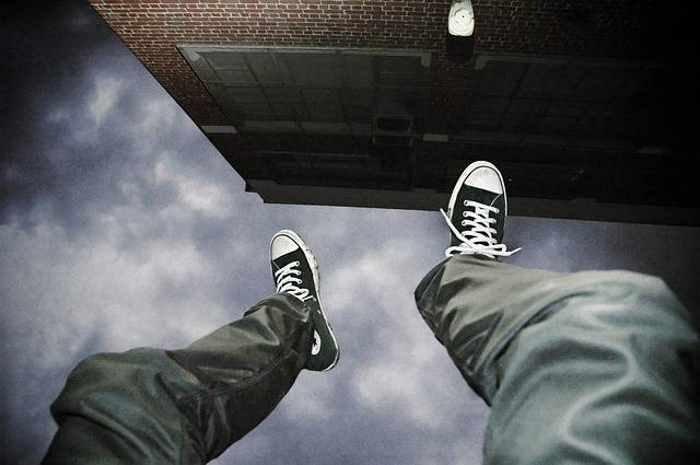 Falling Suicide Man - Free photo on Pixabay (168632)