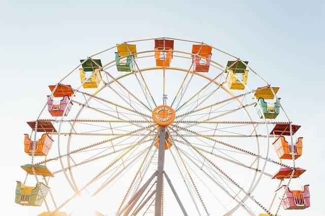 Ferris Wheel Amusement Park Ride - Free photo on Pixabay (168883)