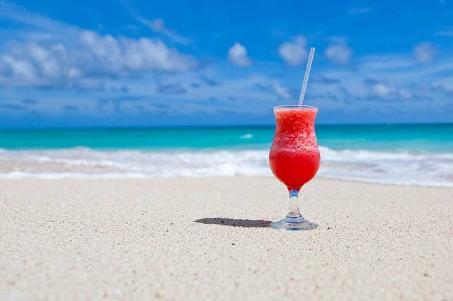 Beach Beverage Caribbean - Free photo on Pixabay (168918)