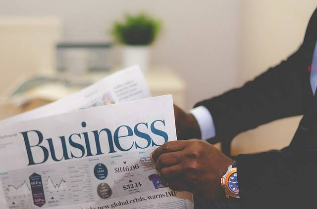 Business Man Newspaper - Free photo on Pixabay (169324)
