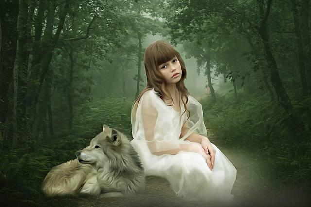 Fantasy Portrait Girl - Free image on Pixabay (171015)