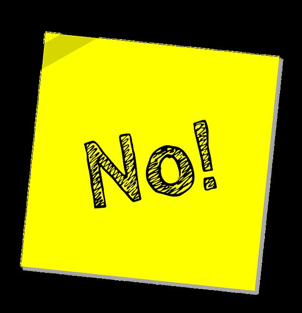 No Not Warning - Free image on Pixabay (171132)