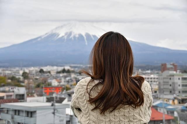 Mt Fuji Cloudy Sky Longing - Free photo on Pixabay (171392)