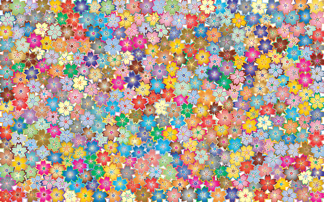 Floral Flowers Abstract - Free vector graphic on Pixabay (172117)