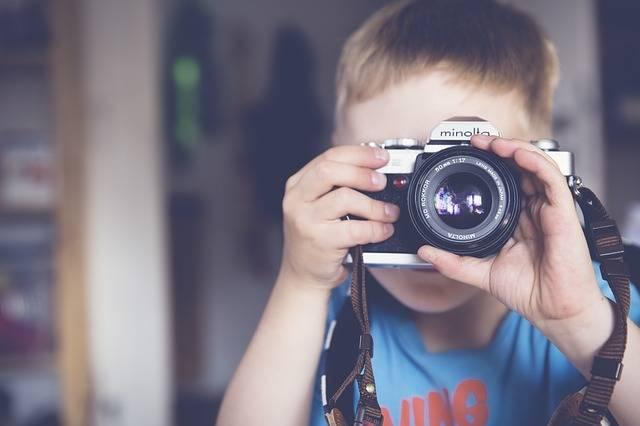 Boy Photographer Camera - Free photo on Pixabay (172168)
