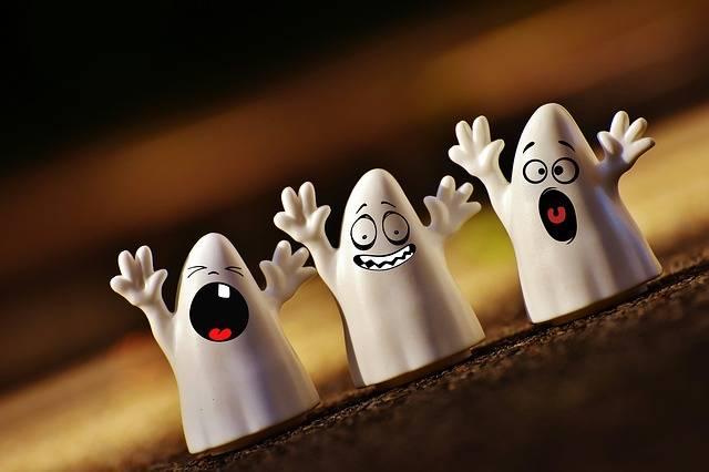Halloween Ghosts Happy - Free photo on Pixabay (172499)