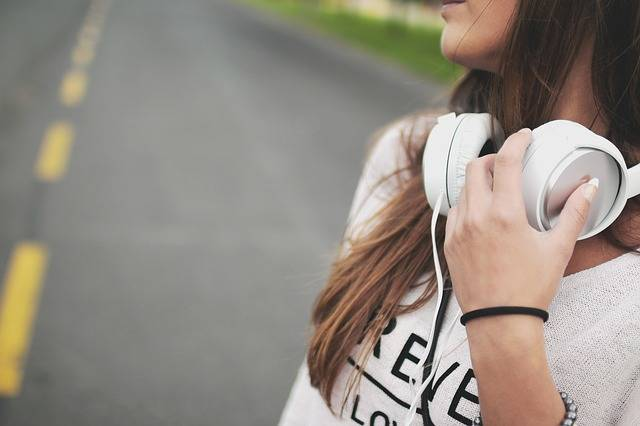 Girl Music Headphones - Free photo on Pixabay (173540)