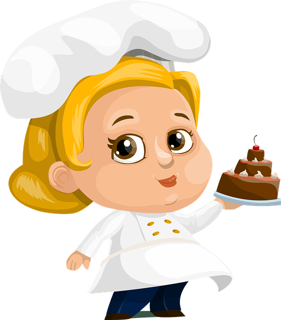 Chef Cake Woman - Free vector graphic on Pixabay (173651)