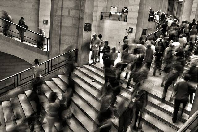 People Crowded Steps - Free photo on Pixabay (175877)
