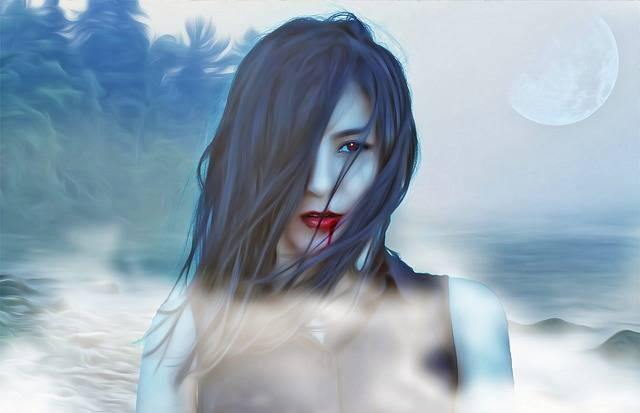 Vampire Vamp Female - Free image on Pixabay (176099)