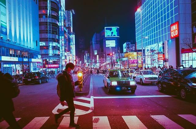 Japan Osaka Night - Free photo on Pixabay (177046)