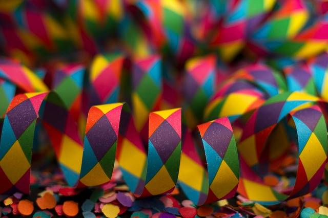 Streamer Carnival Colorful - Free photo on Pixabay (177479)
