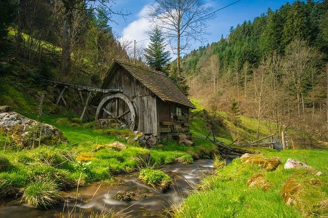 Mill Black Forest Bach - Free photo on Pixabay (177494)