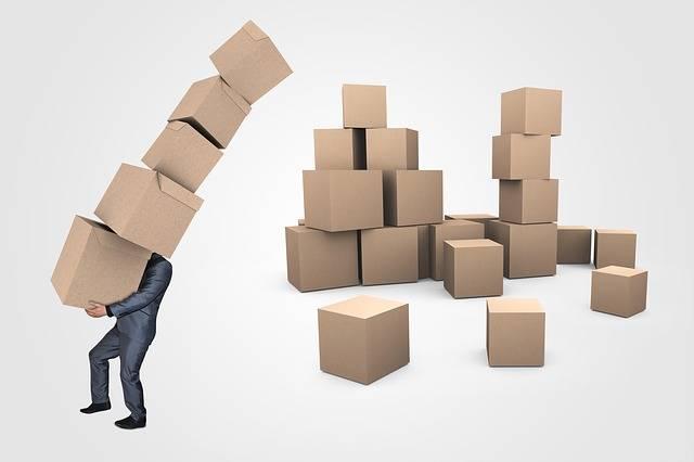 Businessman Boxes Transport - Free image on Pixabay (177964)