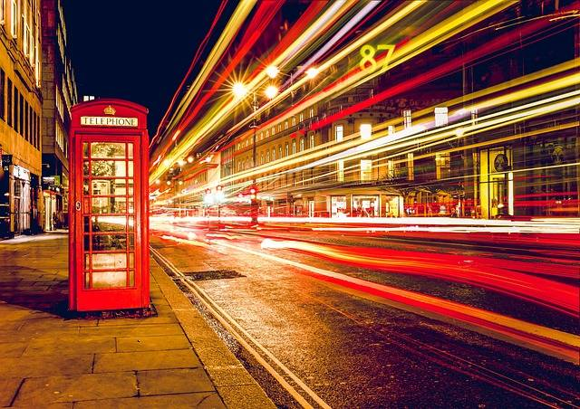 Telephone Booth Red London - Free photo on Pixabay (178147)