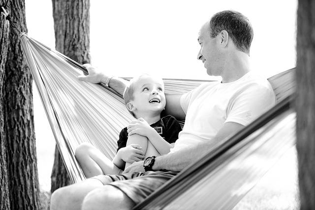 Father Son Hammock - Free photo on Pixabay (178148)