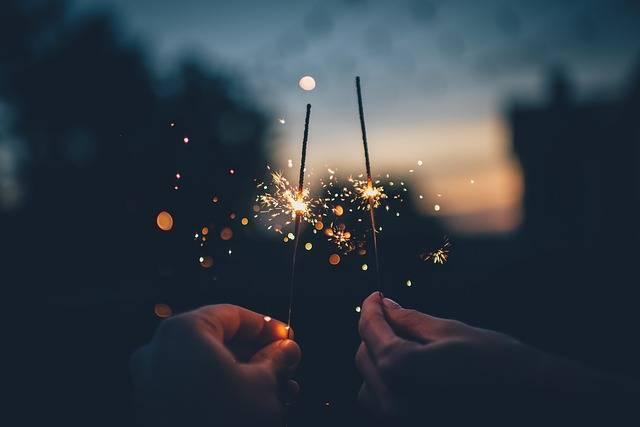 Dark Fireworks Hands - Free photo on Pixabay (178611)