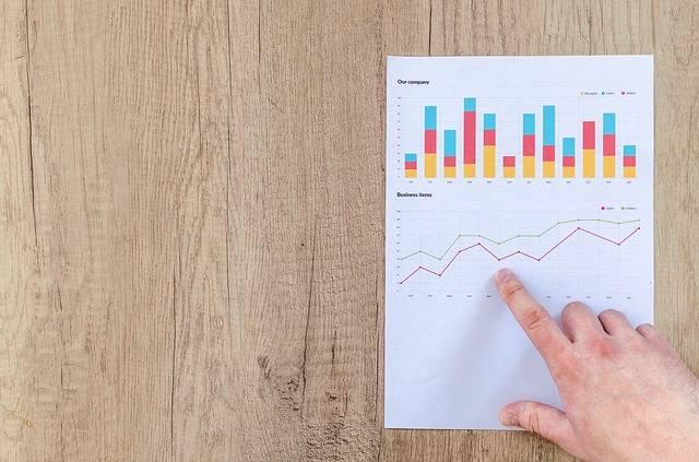 Chart Graph Finance - Free photo on Pixabay (178699)