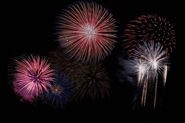 Fireworks Sky Party New Year'S - Free photo on Pixabay (178703)