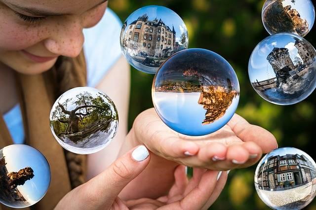 Glass Ball Soap Bubbles Float - Free photo on Pixabay (178981)