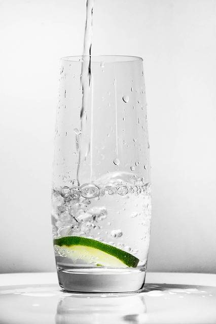 Glass For Water Green Lemon - Free photo on Pixabay (179163)