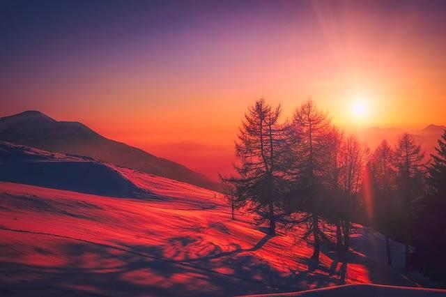 Italy Sunrise Sky - Free photo on Pixabay (179552)