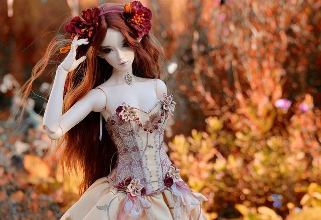 Doll Dress Colors - Free photo on Pixabay (180507)