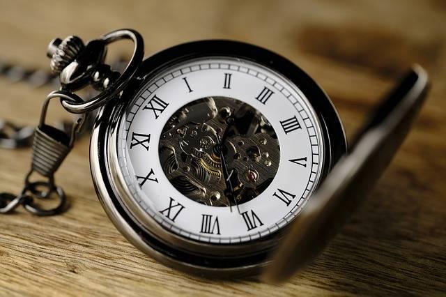 Clock Pocket Watch Movement - Free photo on Pixabay (180918)