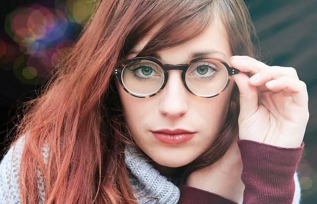 Woman Glasses Girl - Free photo on Pixabay (180959)