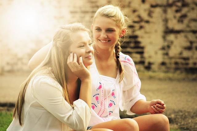Pretty Girls Happy - Free photo on Pixabay (181215)