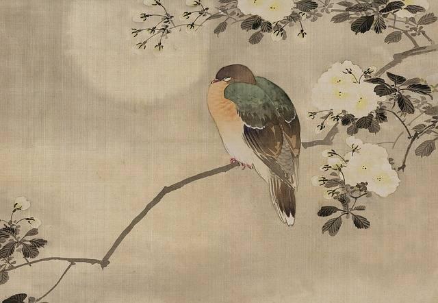 Vintage Japanese Watercolour - Free image on Pixabay (181611)
