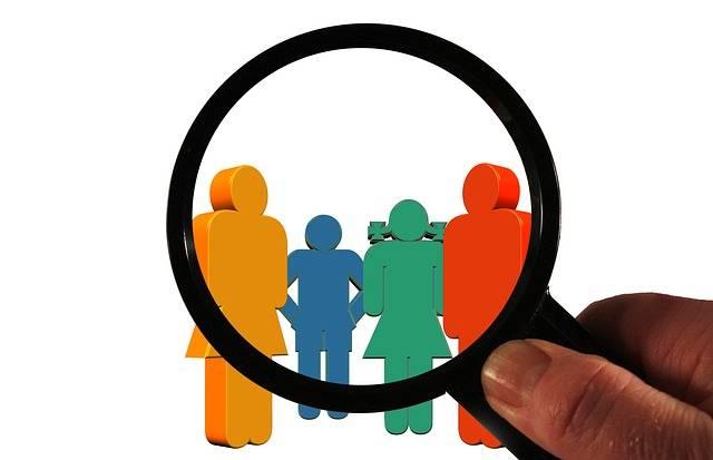 Customer Family Magnifying Glass - Free image on Pixabay (182451)