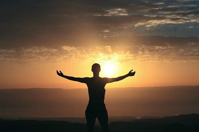 Morning Sunrise Woman - Free photo on Pixabay (182794)