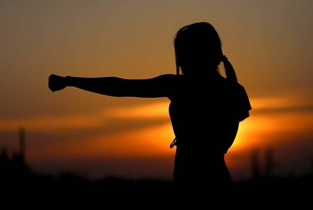 Karate Sunset Fight - Free photo on Pixabay (184158)