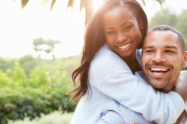 Couple African Happy - Free photo on Pixabay (185221)
