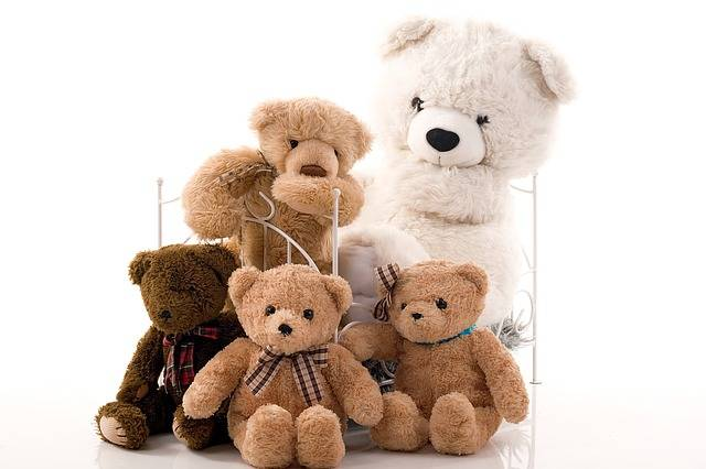 Family Group Teddy Bear - Free photo on Pixabay (185400)