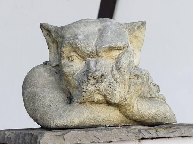 Statue Garden Wolf - Free photo on Pixabay (185997)